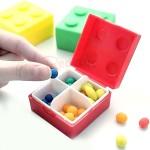 糖果色積木藥盒