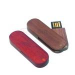 紅木旋轉USB手指