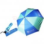 21寸間色經典三摺廣告傘