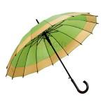 30寸多彩雙層直桿太陽傘紀念品