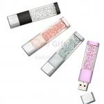 水晶USB手指