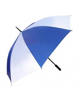 30寸間色自動開直柄禮品傘