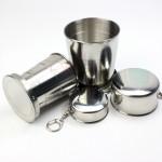 不銹鋼伸縮折疊杯