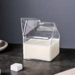 方形牛奶杯