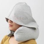 連帽U型旅行頸枕