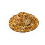 裝飾手工編織草帽
