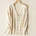 毛衣針織V領外套(團隊服)
